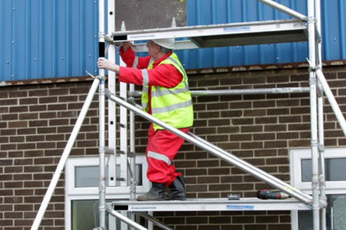 Working at Height - Scaffold and Scaffold Towers